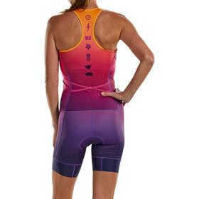 Zoot LTD Tri Racesuit Plus Women sunset